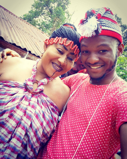 photos  chacha eke ends maternity leave  resumes acting in