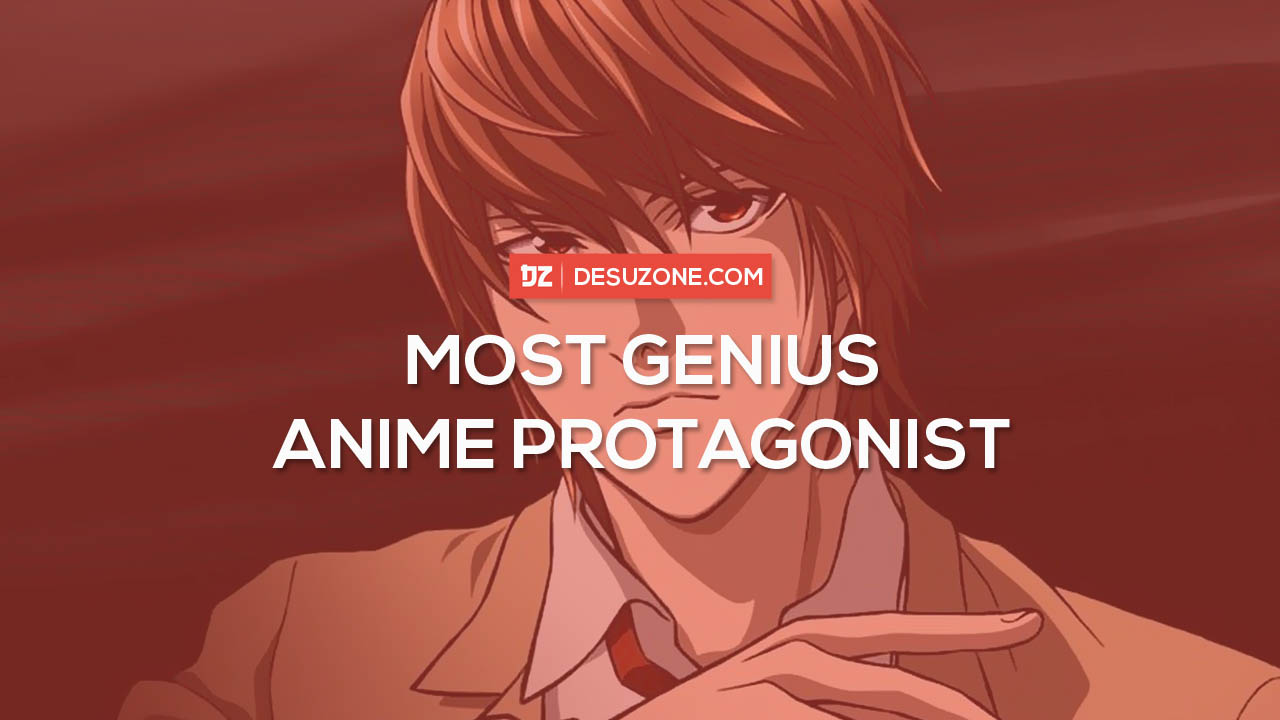 smartest anime main characters
