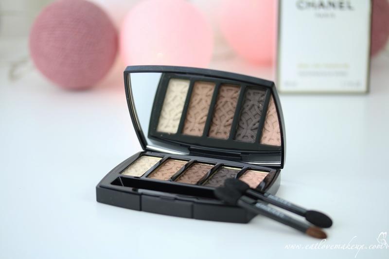 36f354c70af Chanel Les 5 Ombres De Chanel Entrelacs (Chanel Collection Les ...