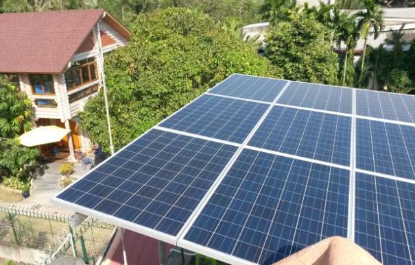 lắp đặt điện mặt trời cho gia đình