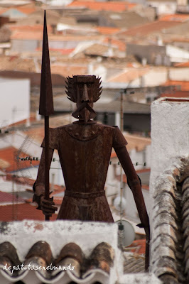 """""""Don Quijote en Campo de Criptana"""""""