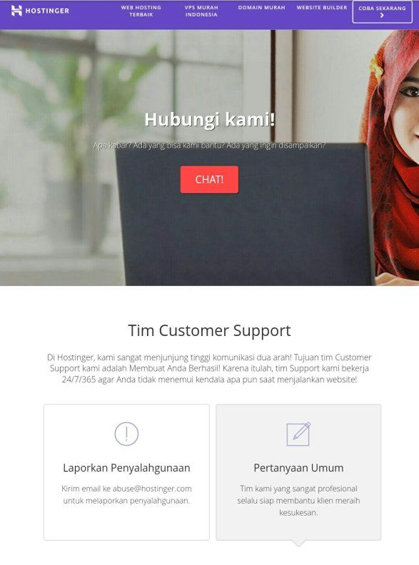 hostinger support
