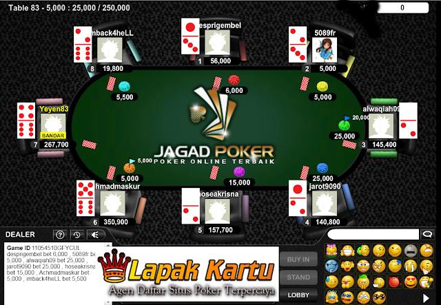 Bermain Permainan Laga Balak Bandar 66 di Agen Poker Legendaris Jagad Poker