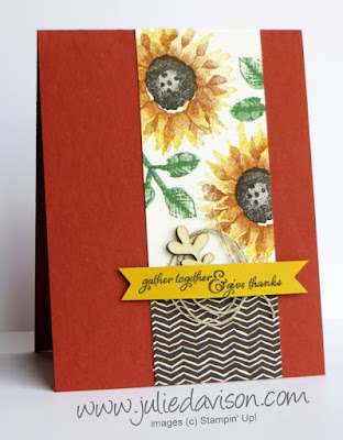 Stampin' Up! Painted Harvest Sketch Card ~ 2017 Holiday Catalog ~ www.juliedavison.com