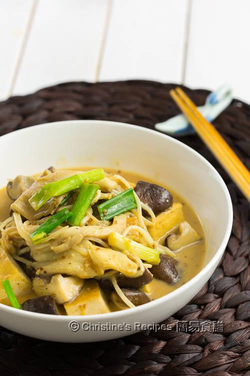 雜菇豆腐配芝麻汁 Mushrooms & Fried Tofu with Sesame Sauce02