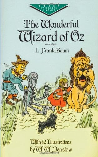 The Wonderful Wizard of Oz as part of Chapter Books for Preschoolers List