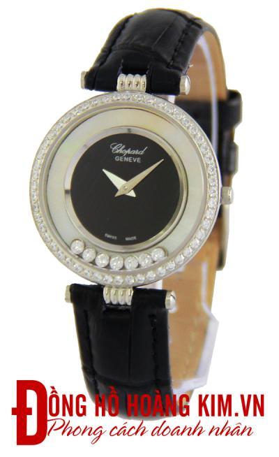 bán đồng hồ chopard nữ dây da
