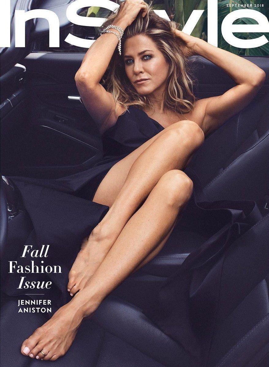 Jennifer Aniston InStyle magazine shoot legs