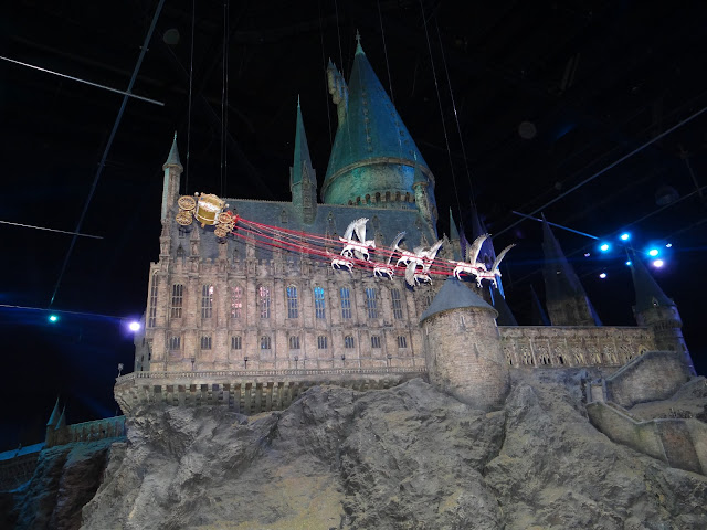 Harry Potter Studio Tour: Beauxbatons carriage