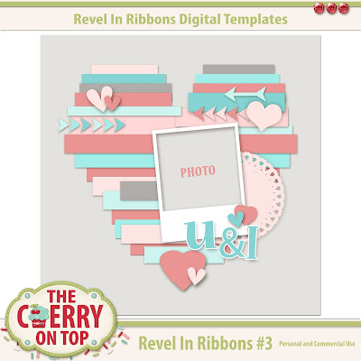 Revel In Ribbons Template