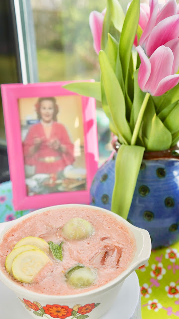 Fanny Cradock Chilled Tomato Soup