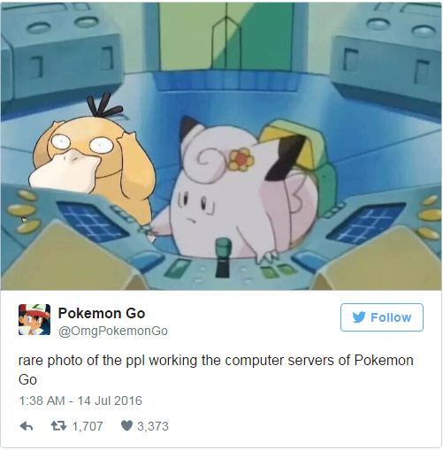 9 Funny Tweets About Pokemon GO 3