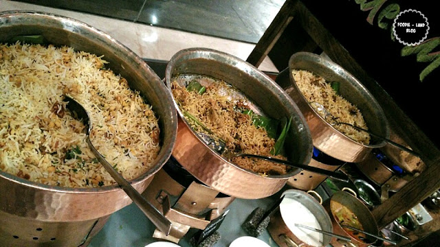 Biryanis @ The Hyderabadi Food Festival @ M Café | Marriott Whitefield | Bangalore