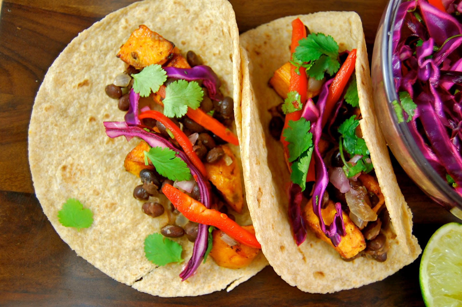 La Petite Maison Verte: Chipotle-Glazed Sweet Potato Tacos ...