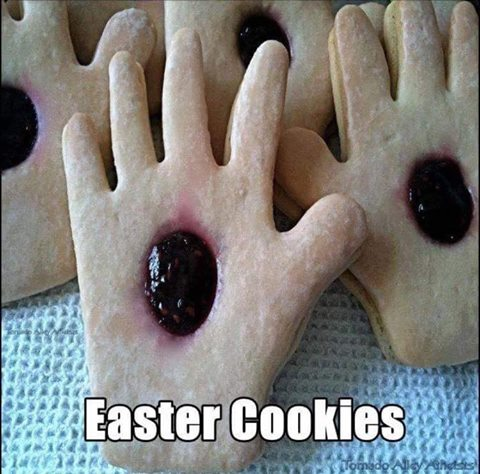 Funny Christian Easter Cookies Meme Picture