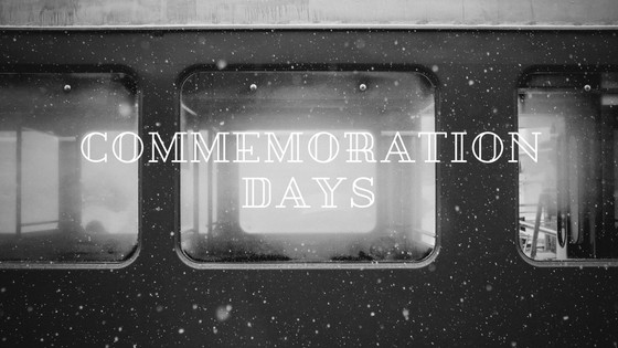 Commemoration Days - 25/10/2017 - 13/11/2017