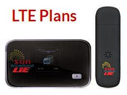 Sun Cellular Broadband Now with LTE
