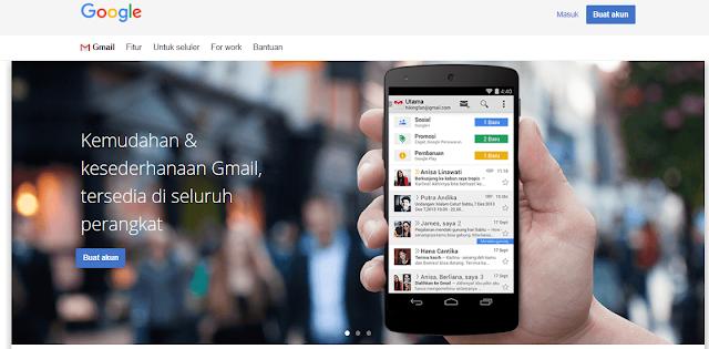 Membuat email baru di GMail