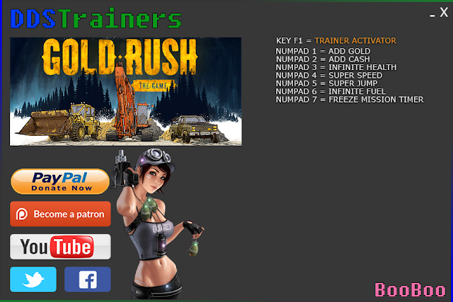 Gold Rush The Game Trainers and Cheats for PC