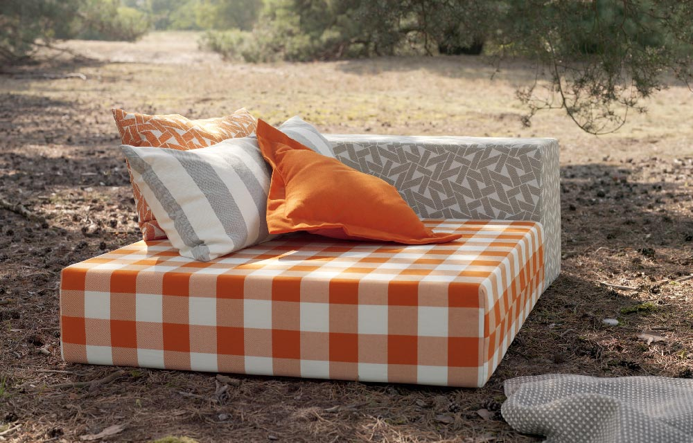 La nuova collezione di tessuti per outdoor di Nya Nordiska