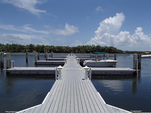 Caladesi Island dock
