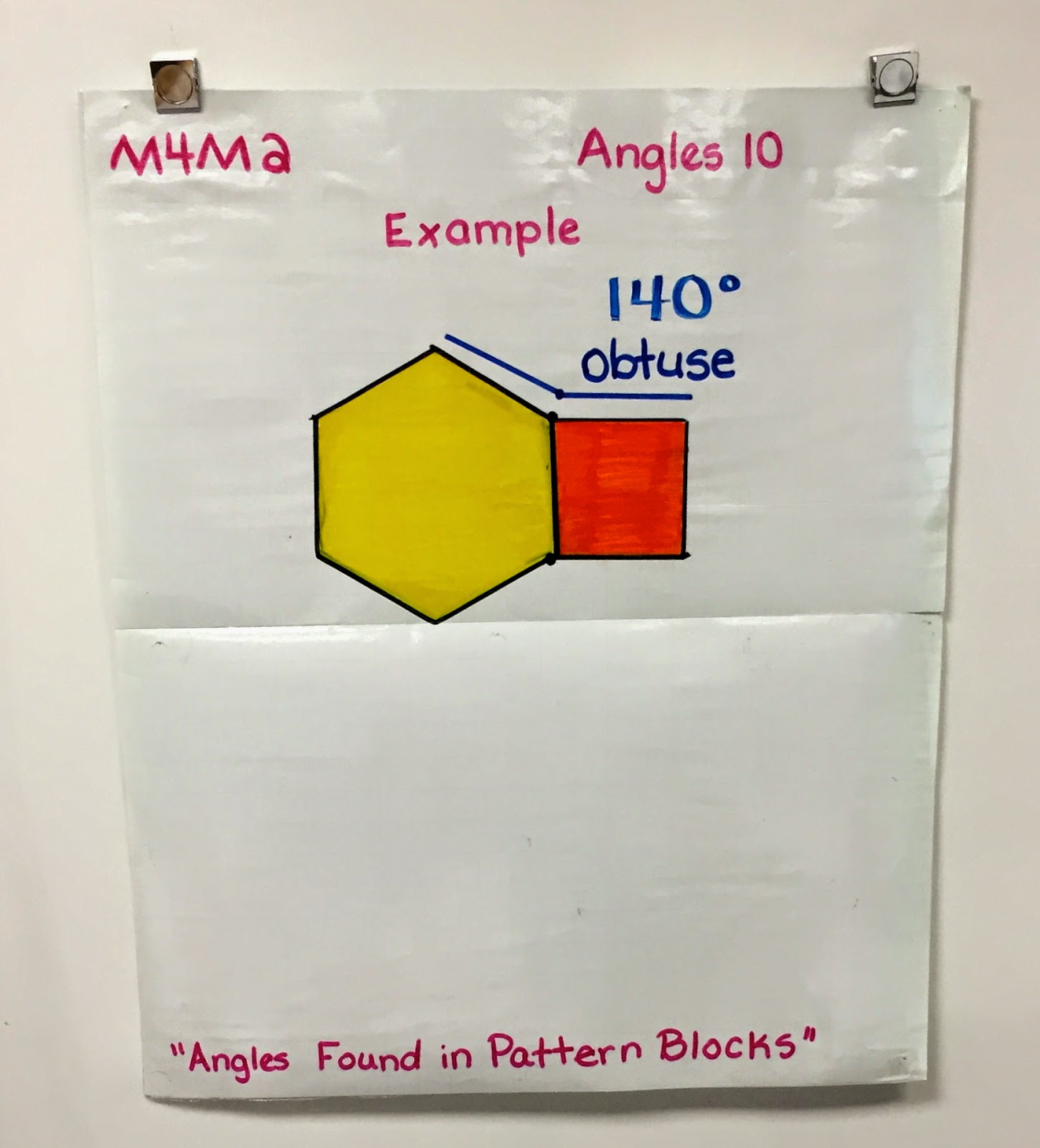 Mrs C S Classroom Angles And Pattern Blocks
