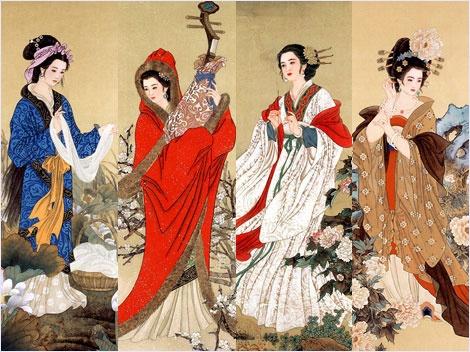 สี่ยอดหญิงงามแผ่นดินจีน (Four Beauties of China)