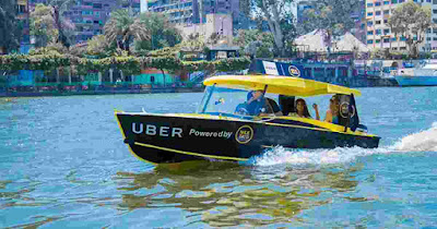 First UBER Speed Boat Service Launched in India