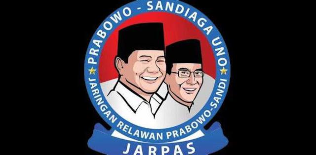 "Relawan Prabowo-Sandi ""JARPAS"" Dideklarasikan Siang Ini"
