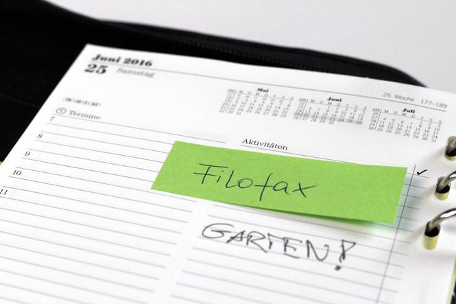 Filofax -  oder warum es manchmal notwendig ist, der Technik den Rücken zu kehren / Mo'Beads / Monika Thiede