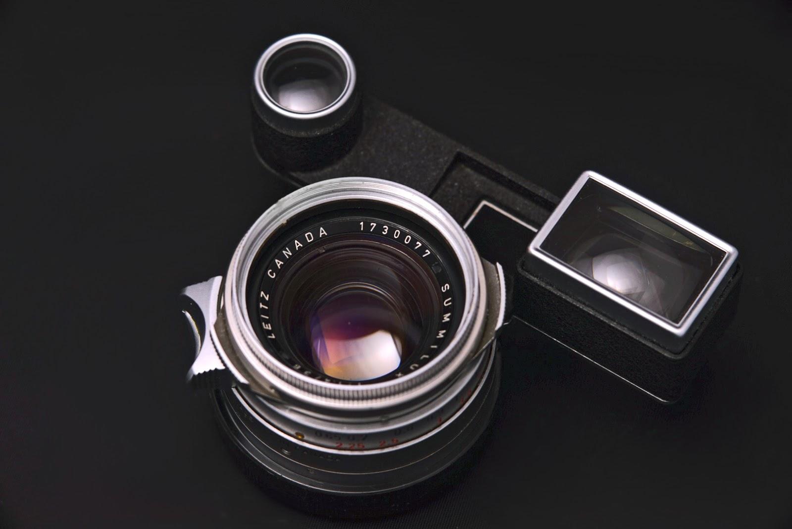 Leica Summilux 35mm F1.4 - Steel Rim