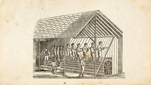 Первая «беговая дорожка» исправляла заключённых