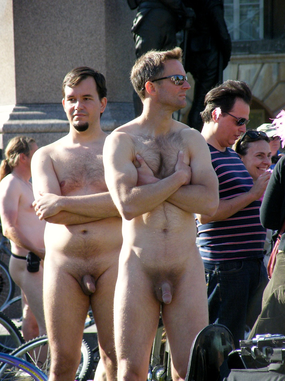 Are nude men world naked bike ride topic simply