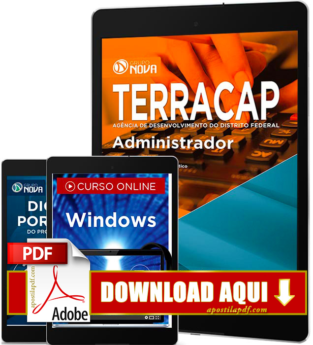Apostila TERRACAP 2017 PDF Download Administrador