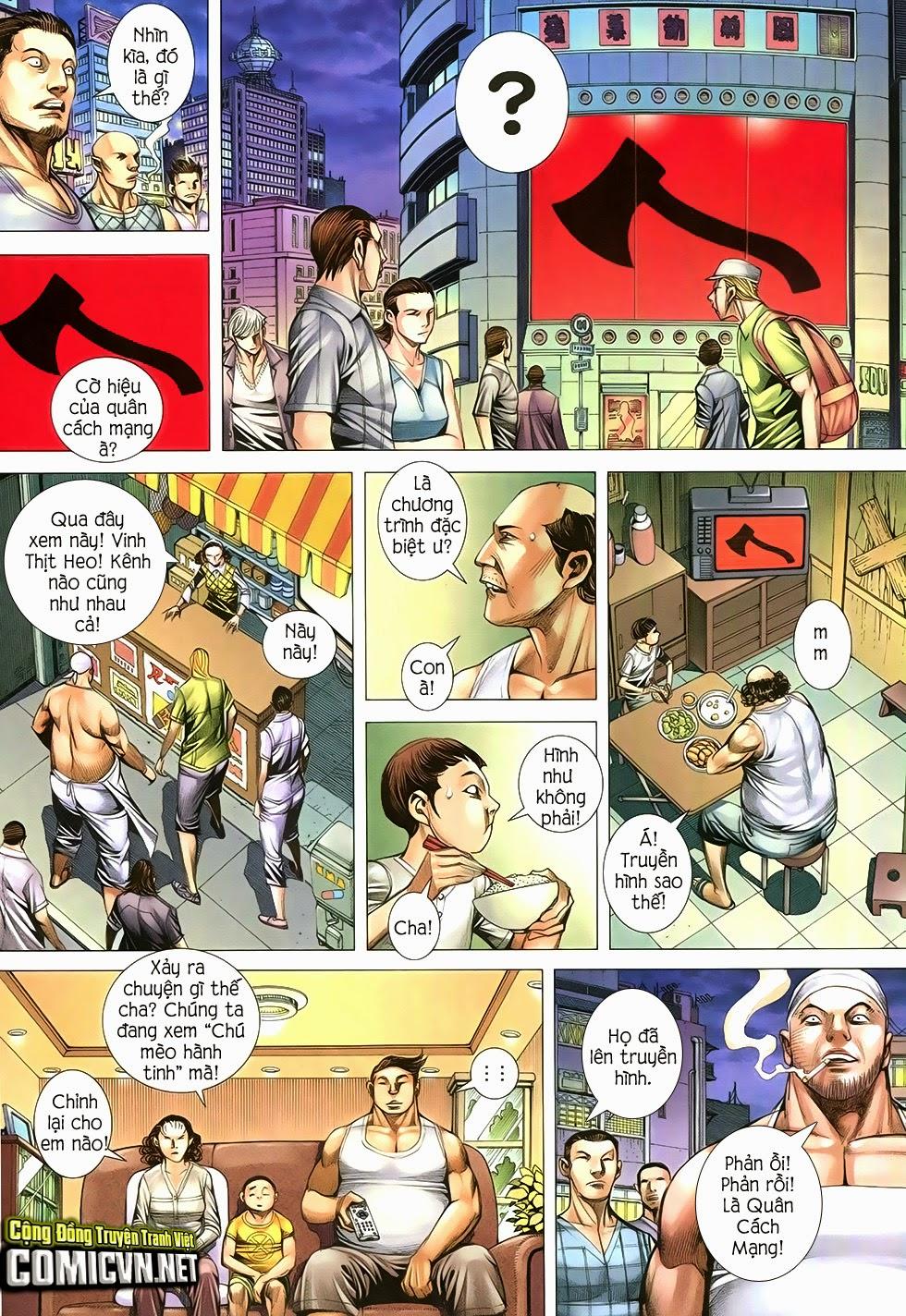 Đại Quân Phiệt chap 12 trang 7