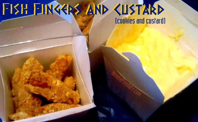Fish fingers and custard | Doctor Who Party Ideas for Whovian Moms