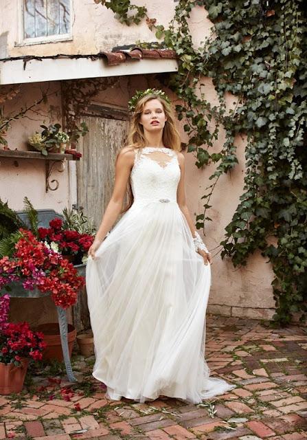 vestidos de novia sencillos para el dia