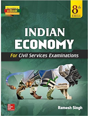 Download Free Book Indian Economy by Ramesh Singh PDF