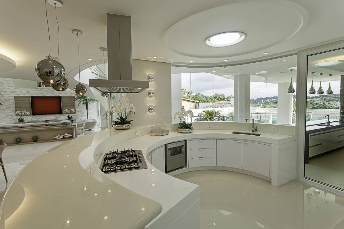 The Main Features Of The Integra Contemporary Kitchen Are Wide
