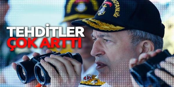 Τούρκος αρχιστράτηγος: «κινδυνεύουμε!»