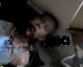 Perro Policia Muerde la Cara de Detenido