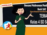 RPP Tematik Kelas 4 SD Tema 2 Kurikulum 2013 Revisi 2017 Semester 1