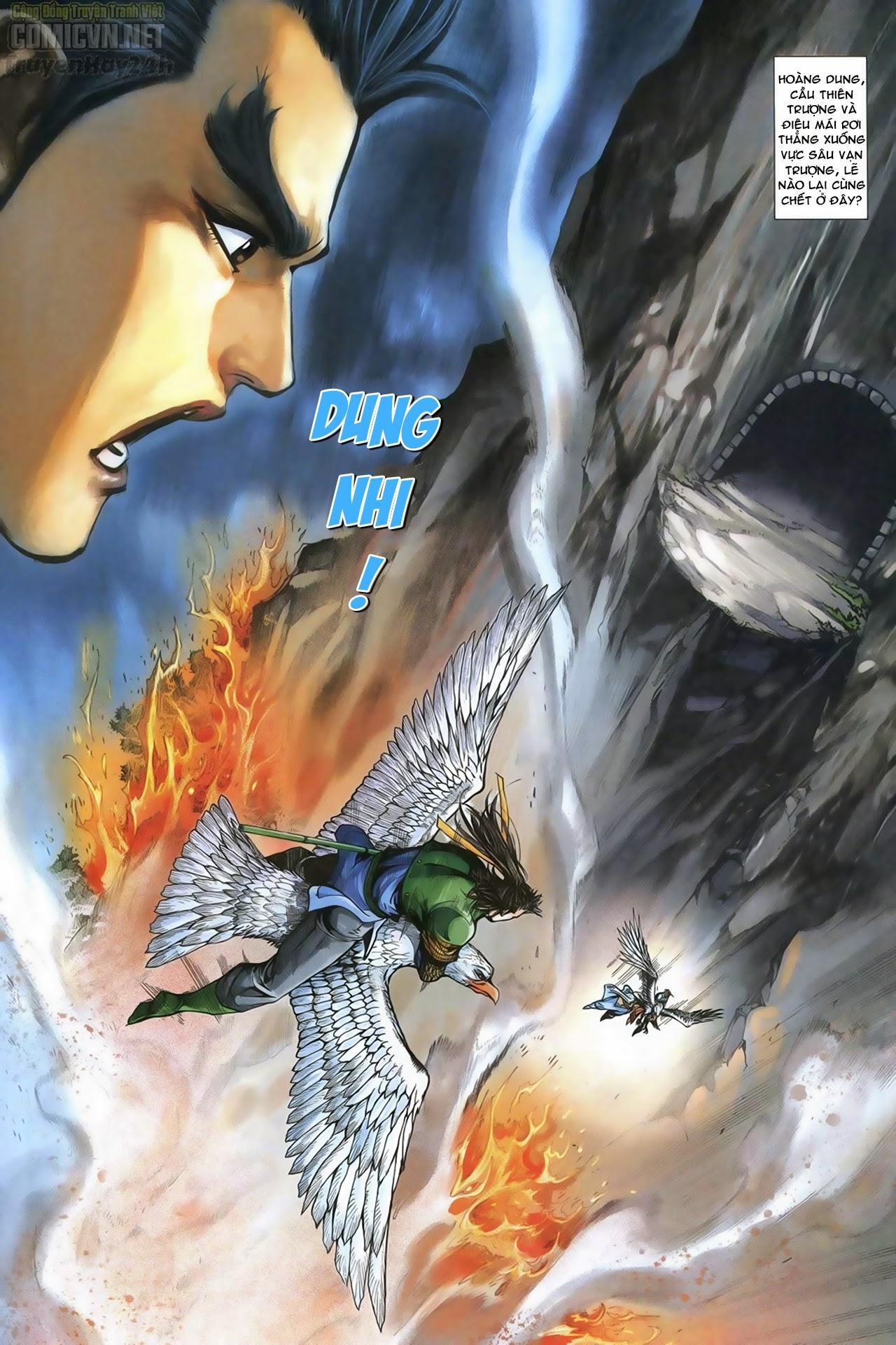 Anh Hùng Xạ Điêu anh hùng xạ đêu chap 69: hồn đoạn thiết chưởng phong trang 34