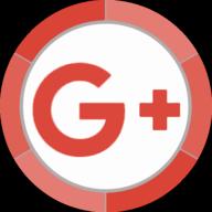 google plus button icon