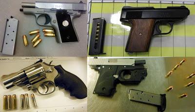 Loaded Guns Discovered at TSA Checkpoints