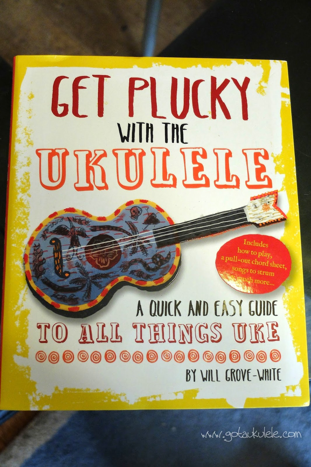 It would be useful to have covered 'heartbreak hotel' before this lesson! Get Plucky With The Ukulele By Will Grove White Review