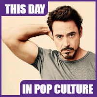 Robert Downey Jr. was born on April 4, 1965.