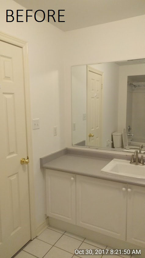 luxury washroom remodel