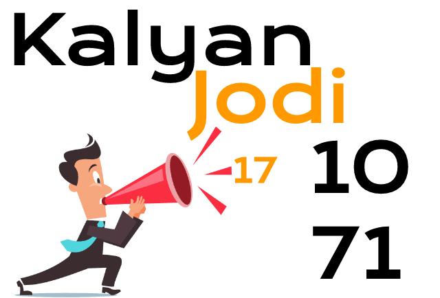 kalyan.live Single Jodi