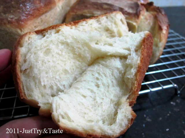 Obsesi Roti 3: Hokkaido Milky Loaf - Roti Lembut ala Jepang